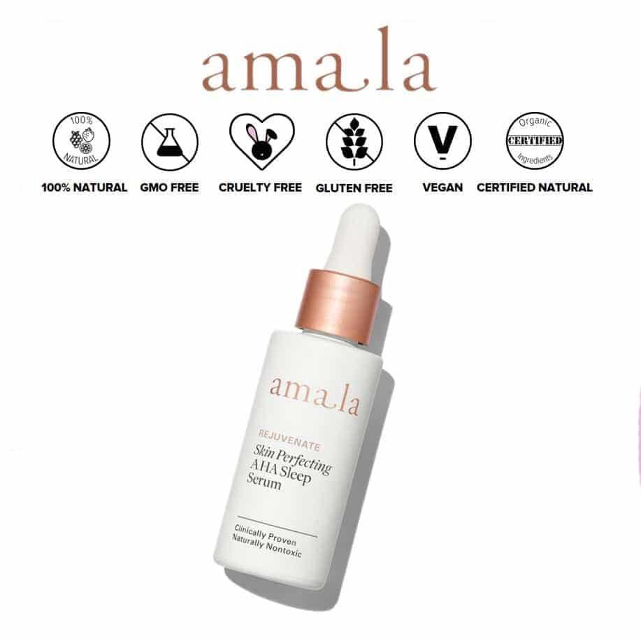 *AMALA – SKIN PERFECTING AHA ORGANIC SLEEP SERUM | $188 |