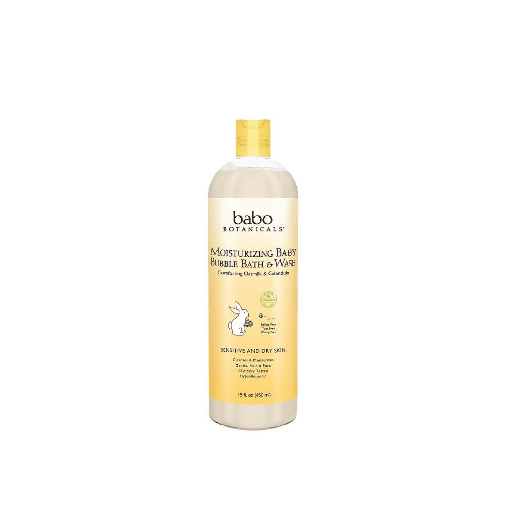 Babo Botanicals Moisturizing Organic Baby Bubble Bath 3-in-1 | $16 |