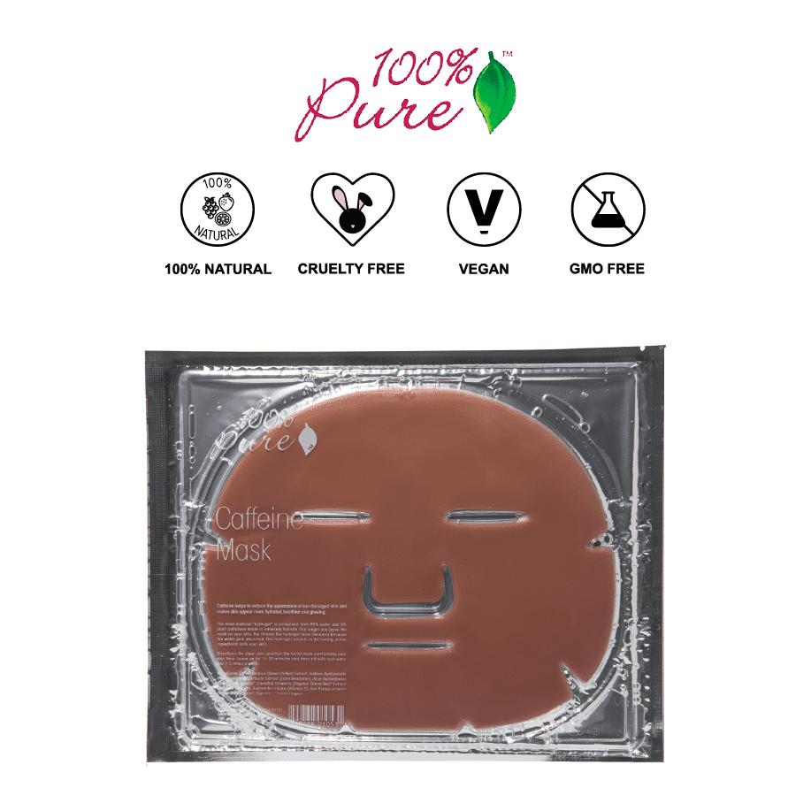 *100% PURE – CAFFEINE ANTI-INFLAMMATORY NATURAL SHEET MASK | $8 |