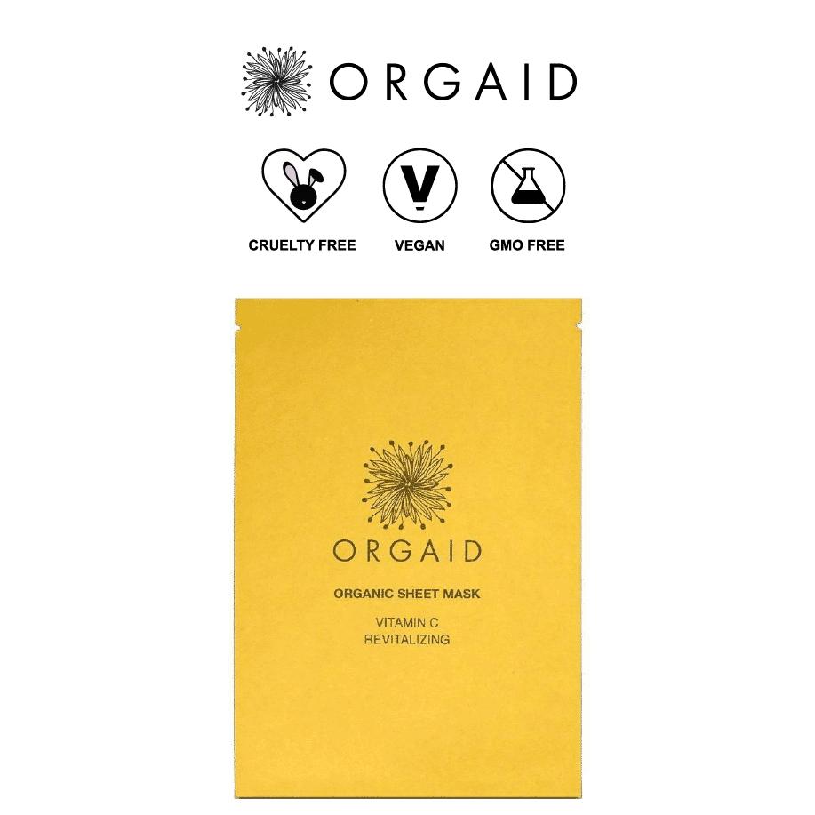 *ORGAID – ORGANIC VITAMIN C BRIGHTENING SHEET MASK | $6 |