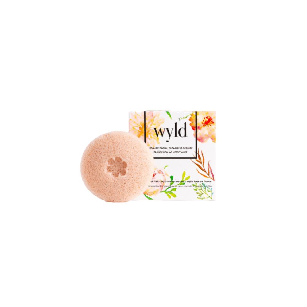 WYLD Skin Care French Pink Clay Konjac Sponge   $16.90  