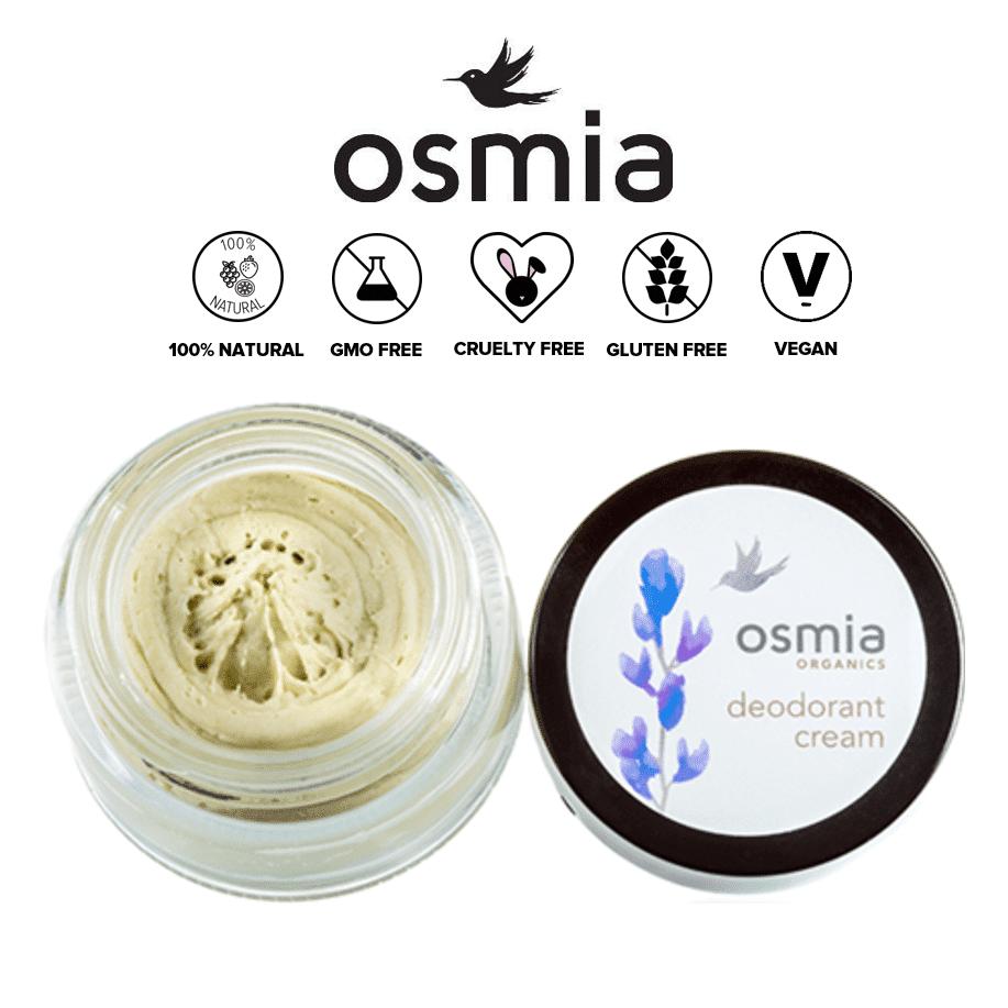 *OSMIA ORGANICS – ORGANIC DEODORANT CREAM | $12 |