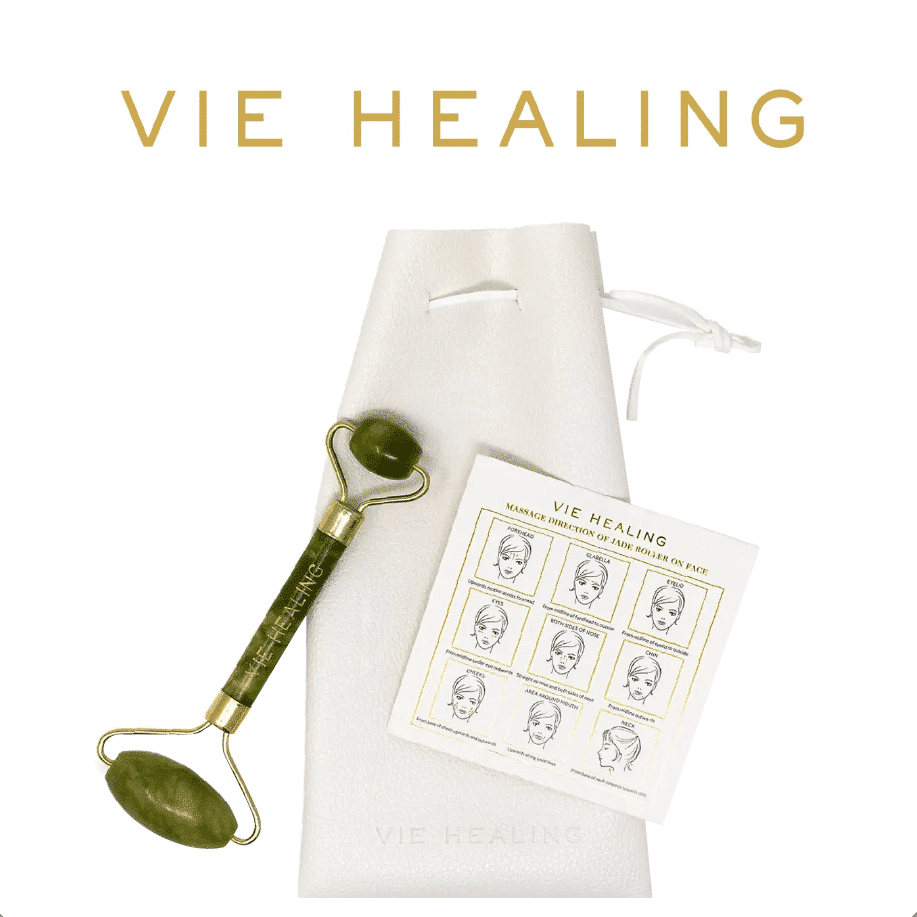 *VIE HEALING – JADE FACIAL ROLLER   $54  