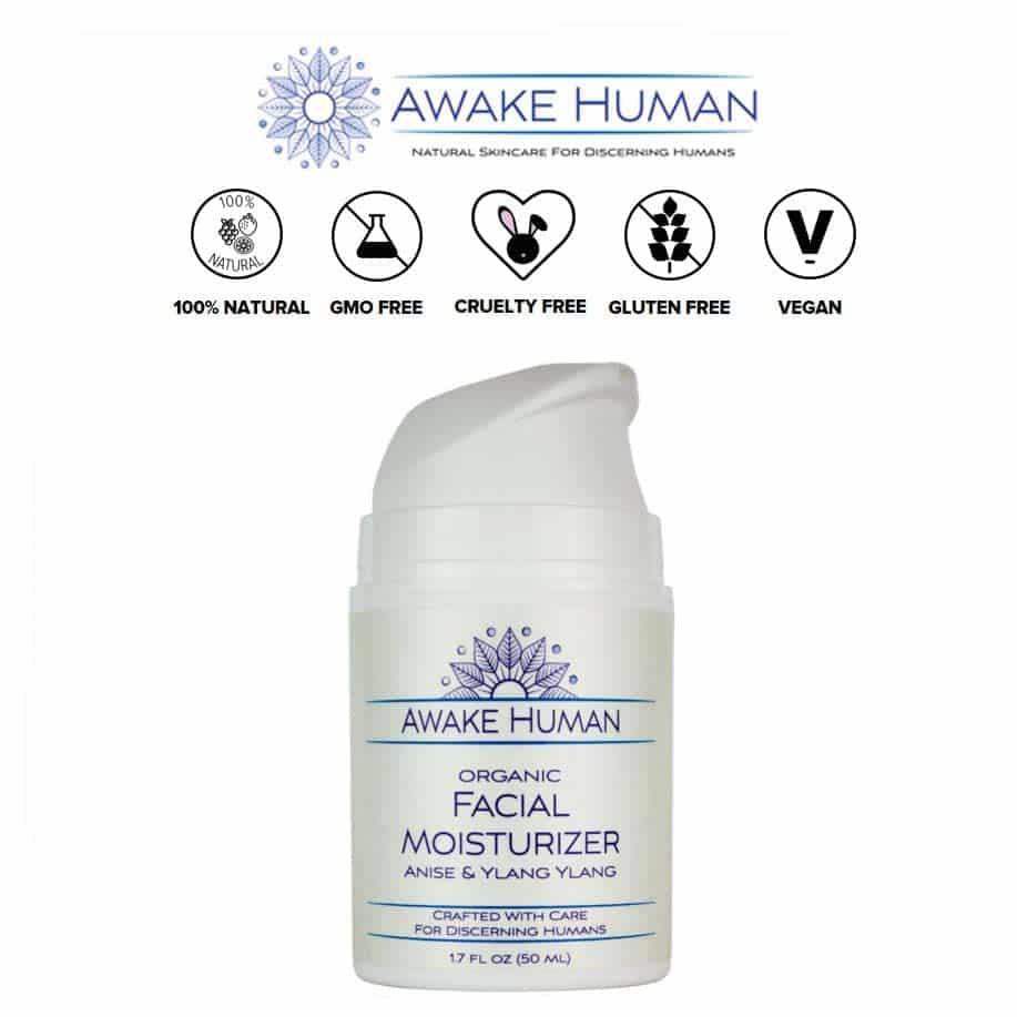 *AWAKE HUMAN – UNSCENTED ORGANIC FACIAL MOISTURIZER | $15.99 |