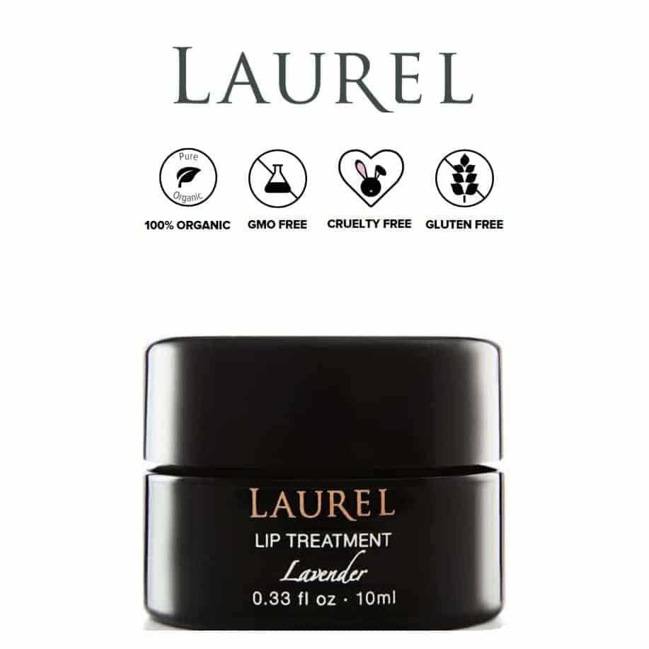 *LAUREL SKIN – FRENCH LAVENDER ORGANIC LIP TREATMENT   $24  