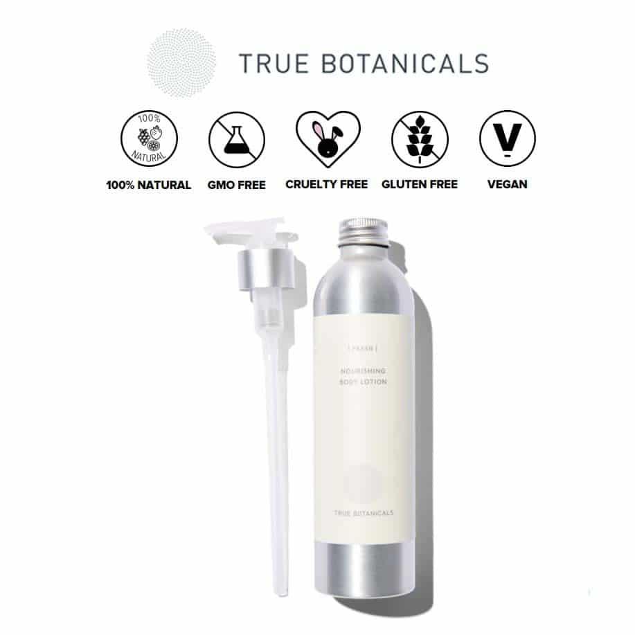 *TRUE BOTANICALS – NOURISHING ORGANIC BODY LOTION | $38 |