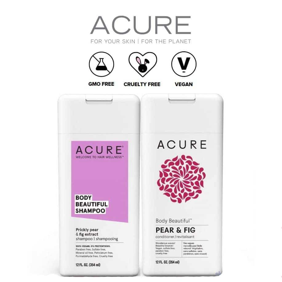 *ACURE ORGANICS – PEAR & FIG BEAUTY BODY ORGANIC CONDITIONER   12.49  