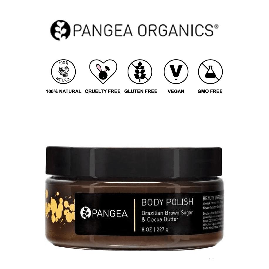 *PANGEA – BROWN SUGAR & COCOA BUTTER NATURAL BODY SCRUB | $28 |