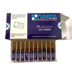 Lucchini 2nd Generation Fresh Cell Therapy with THYMUS