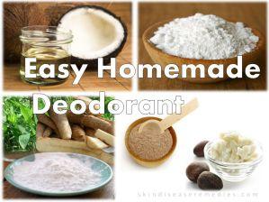 Homemade Deodorant for Sensitive Skin