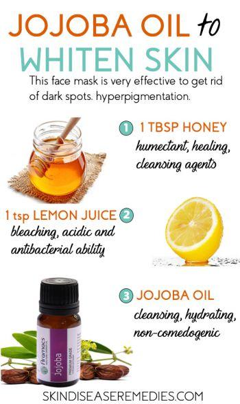 jojoba oil for skin lightening