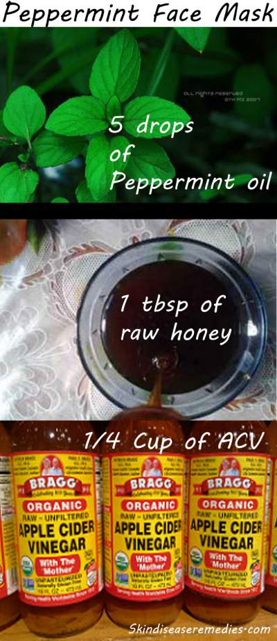 peppermint face mask