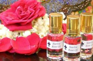 "Apart from their aromatic smell, roses have therapeutic benefits that can improve your overall health. For most youngsters it's just a symbol to express love, but it has something more hiding behind the petals. It is extensively used in aromatherapy, to improve blood circulation, boost immune system and to reduce stress. Massaging rose oil over the skin makes it free from ailments like acne, rosacea and dry skin. Regular application of rose oil for skin lightening can bring positive results. The oil is obtained through simple distillation process that you can try at home. Enticing nutrients in rose oil allured cosmetic industries to include in their beauty products. So now, most perfumes and beauty creams incorporate this natural substance. Rose Oil for Skin Lightening Unlike our grandparents we no more have pollution free environment. We spend most of our time in impurities and pollutants; apart from this we explicitly apply chemical filled creams on face. Along with this, to feed on excess sebum and dead cells, bacteria invade your skin to worsen the situation. Dark spots are formed due to harmful UV rays. Your skin has melanin that multiplies when it exposed to sun. Due to some internal factors the melanin production is confined to few particular places resulting in dark patches all over the face and body. First you must wipe those impurities and also save your skin from harmful UV rays. With external application like rose oil, experts recommend to have nutritional rich diet to combat infections in the body. Researches state that rose oil has many healing compounds that exhibits antioxidant, antibiotic, antimicrobial and healing activity. A study published in 2010 concludes that, with small amount of rose oil you can destroy P.acnes bacteria. Anti-inflammatory properties in this oil can reduce inflammation caused by infection. Dry skin triggers most skin ailments, starting from itching. Topical application of rose oil will hydrate your skin and bring back the lost moisture to it. Astringent agents shrink skin pores and reduce wrinkles. Free radicals that damage cell membrane are removed by antioxidant activity. Interestingly, a study carried in 2009 states that topical application of rose oil showed great relaxing and helped to reduce blood pressure. Assorted properties residing in rose oil can wipe the impurities off the face and make it clear and supple. This versatile oil can be used on all skin types and you won't feel greasiness on the skin. But, its recommend to dilute it with other carrier oil and massage evenly over the face and on neck. You can also control chronic skin diseases like eczema and psoriasis, if you regularly apply it over the affected parts. German Scientist said that ""For substances applied in rose oil, a clear relationship between their lipophilic character, chemical structure, and skin permeation could be confirmed."" In other words, rose oil improves skin's absorption feature. So implicitly if you use chemical creams you're damaging your skin. Don't use chemical creams or cosmetic creams that include rose oil. As they also incorporate other chemical ingredients they do more harm than benefit to your skin. How to Use Rose Oil for Bright and Youthful Skin? As mentioned, don't use it directly over the face. However, for acne or pimples you can apply the rose oil as a spot treatment using cotton ball. Else, mix rose oil with any carrier oil like jojoba oil, coconut oil or olive oil. Initially, wash your face to remove external dead cells and impurities. Pat dry and apply mixed rose oil and carrier oil solution. Leave it for 20-30 minutes. Add this beauty ingredient to your regimen and use it regularly. Let us know if you ever used rose oil for skin lightening"