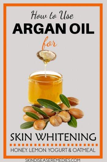 argan oil for skin lightening