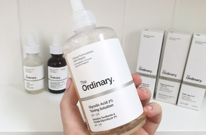 Glycolic acid 7% Toning Solution by the ordinary #7