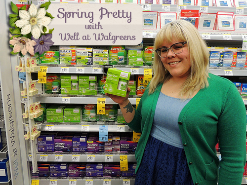 Getting Spring Pretty (and Free from Allergy Issues) with Well at Walgreens!