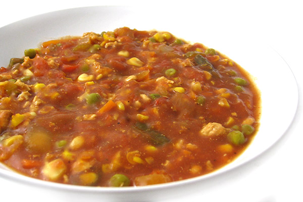 Crock Pot Brunswick Stew Made Skinny With Weight Watchers Points