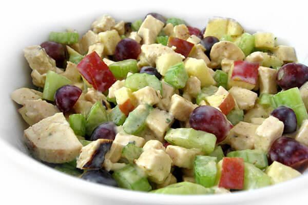 Skinny Waldorf Chicken Salad