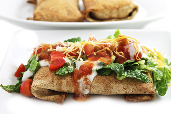 Chicken Chimichangas Made Skinny With Weight Watchers Points Skinny Kitchen