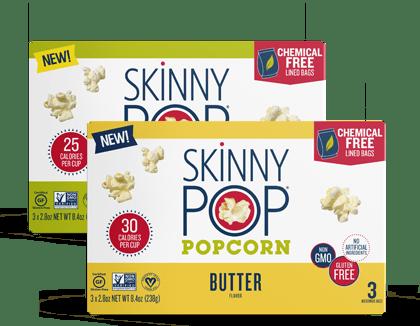 skinnypop popcorn pure popped perfection
