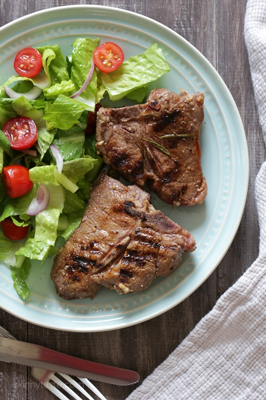 Grilled Rosemary Lamb Chops Skinnytaste