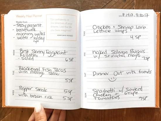 Skinnytaste Dinner Plan (Week 87)