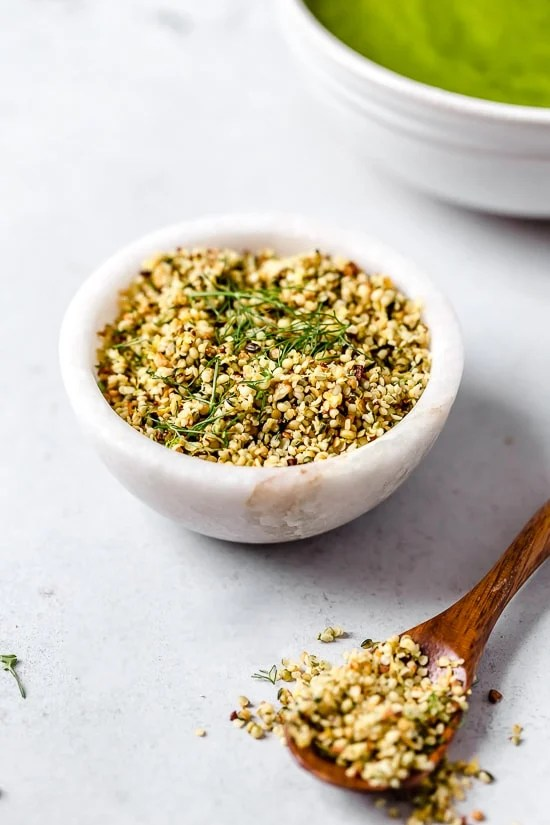 Green Detox Soup with Toasted Hemp Gremolata