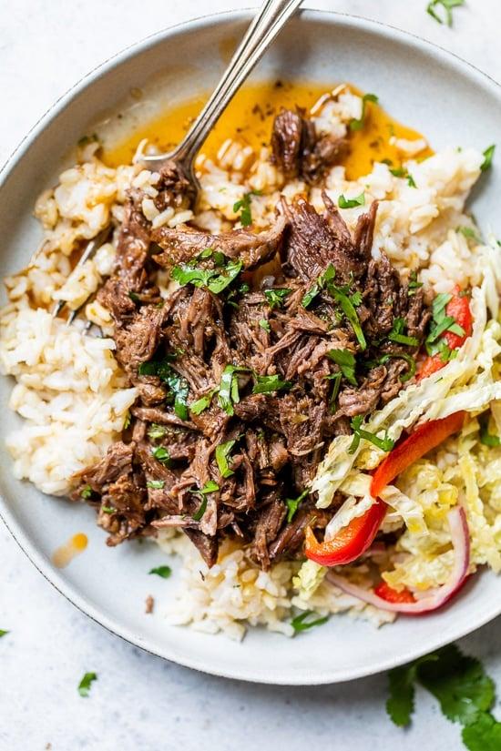 Instant Pot Braised Beef
