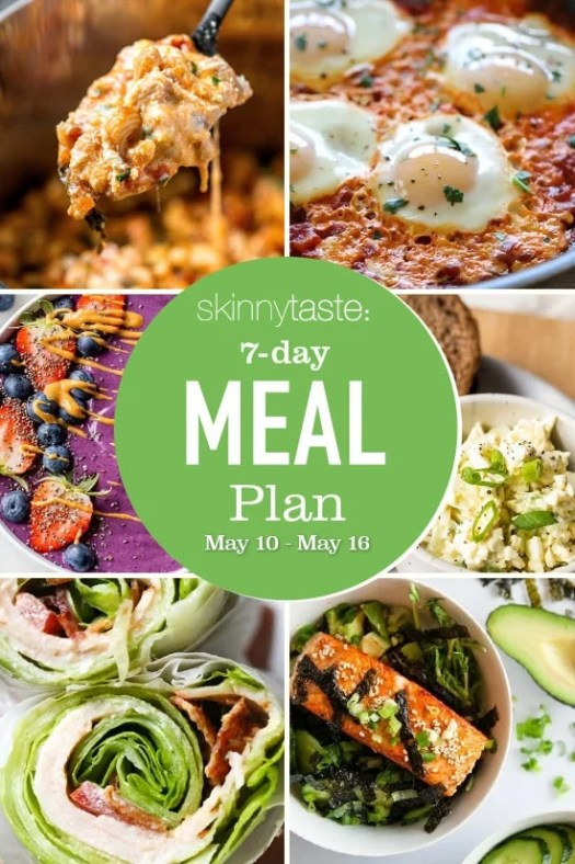7 Day Healthy Meal Plan (May 10-16) 2