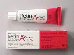 Retin-A Cream for Acne and Sun Damaged Skin