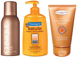 tanning lotions