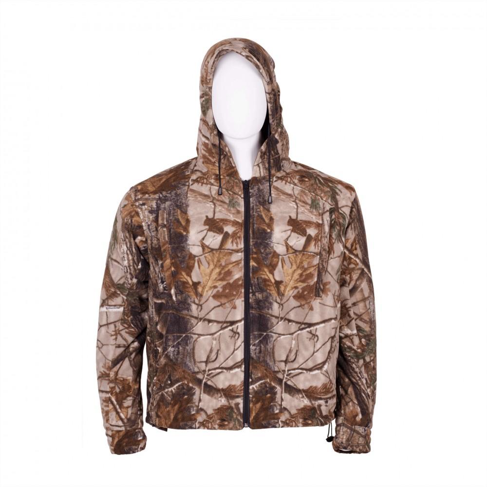 Men's Fleece Hooded Jacket WICKED WIND Front