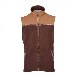 Men's Winter Fleece Vest REPEATER front