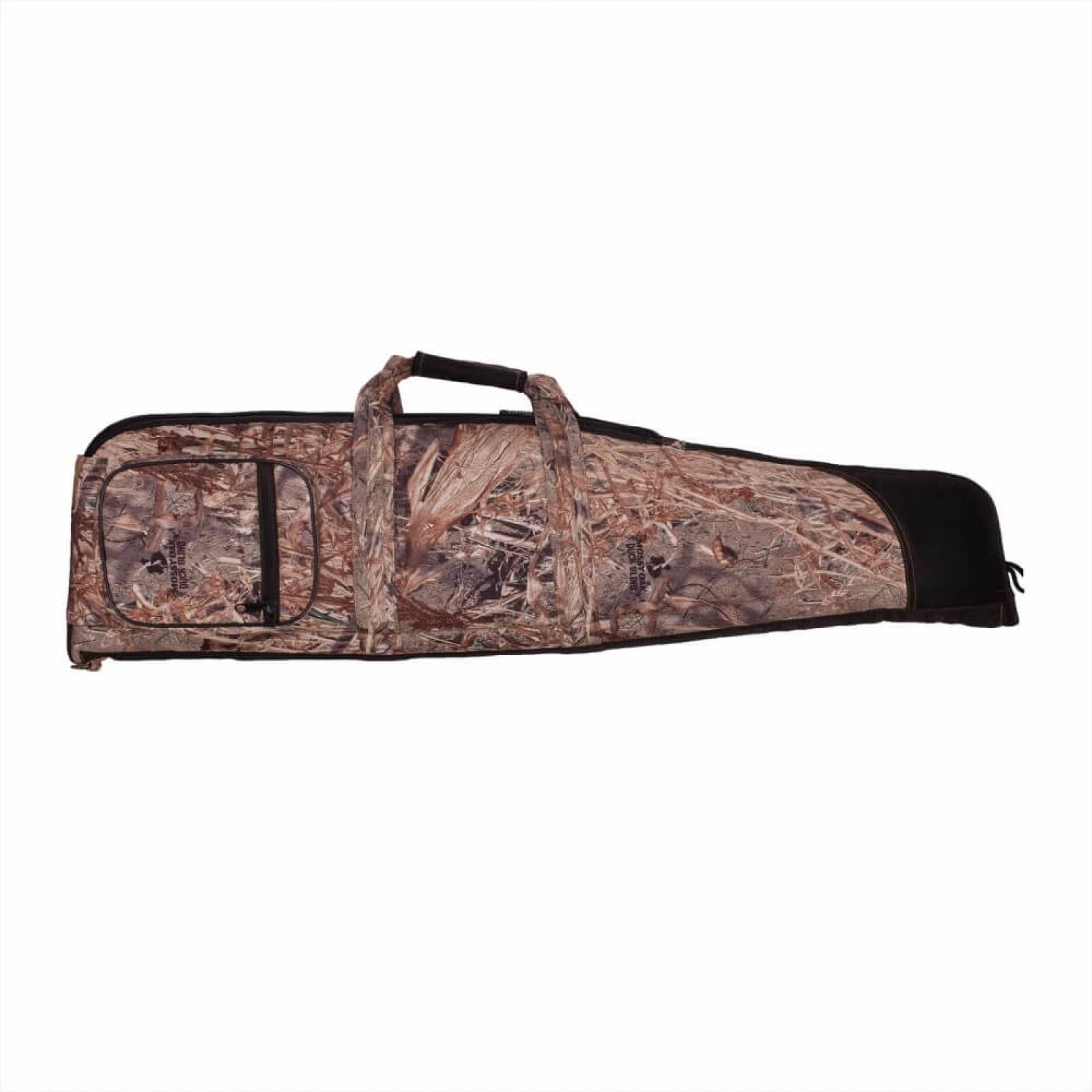 S.U.H Rifle Case TARGET in MOSSYOAK DUCKBLIND Fabric Front