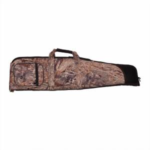 S.U.H Rifle Case TARGET in MOSSYOAK DUCKBLIND Fabric Front