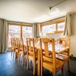 Chalet Grand Sapin dining room
