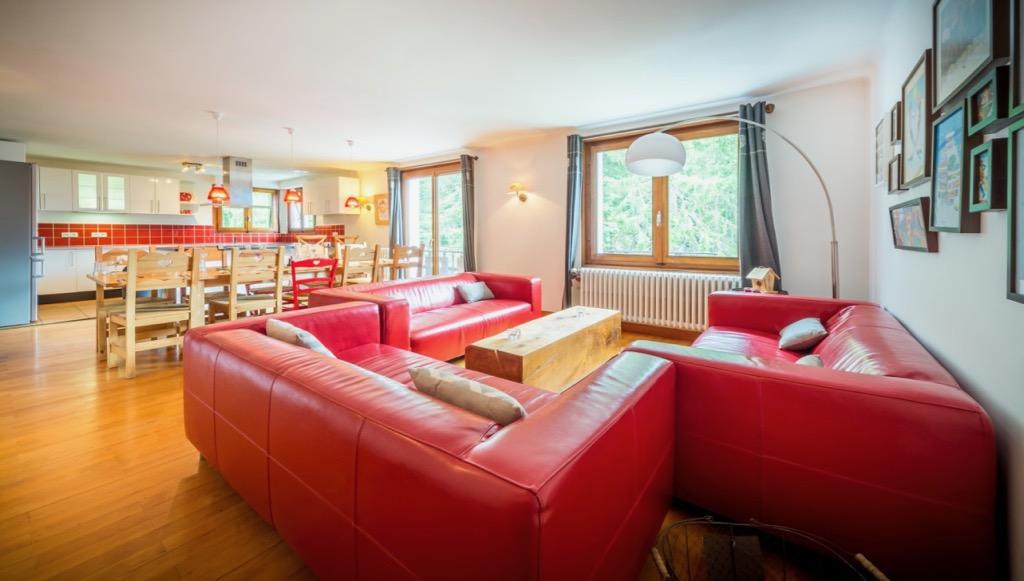 Chalet Deux Freres Lounge