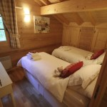 Chalet L'Isiere Bedroom La Valle