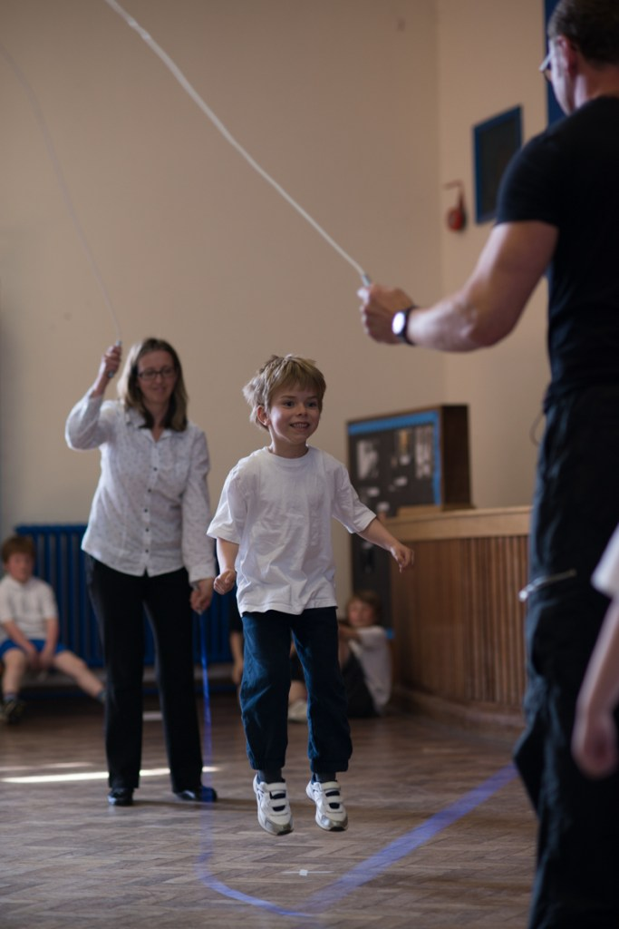 double dutch skipping primary school
