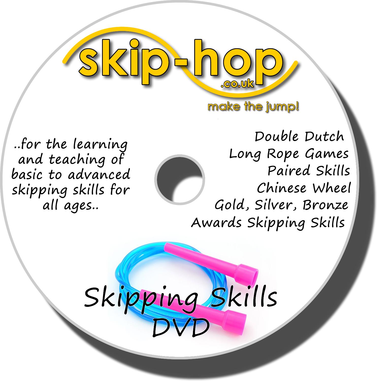 skip-hop skipping skills dvd