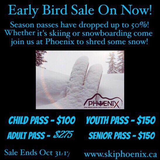 Early Bird Pass Sale