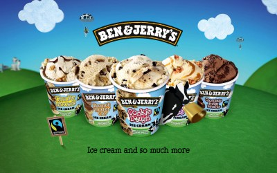 Ben and Jerry's land @ Skippers