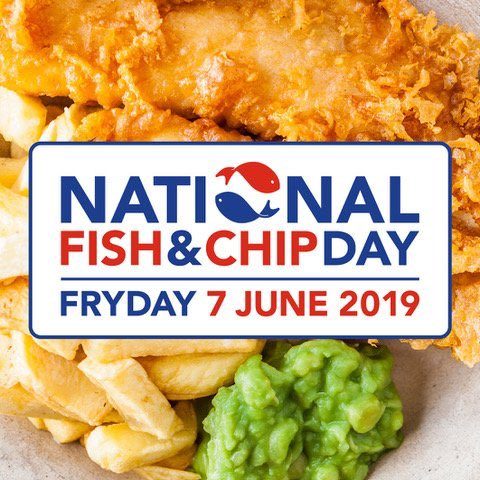 National Fish and Chip Day – 7th June
