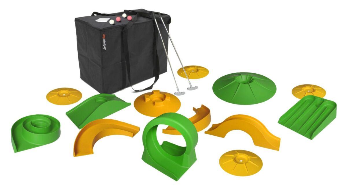 Minigolf set