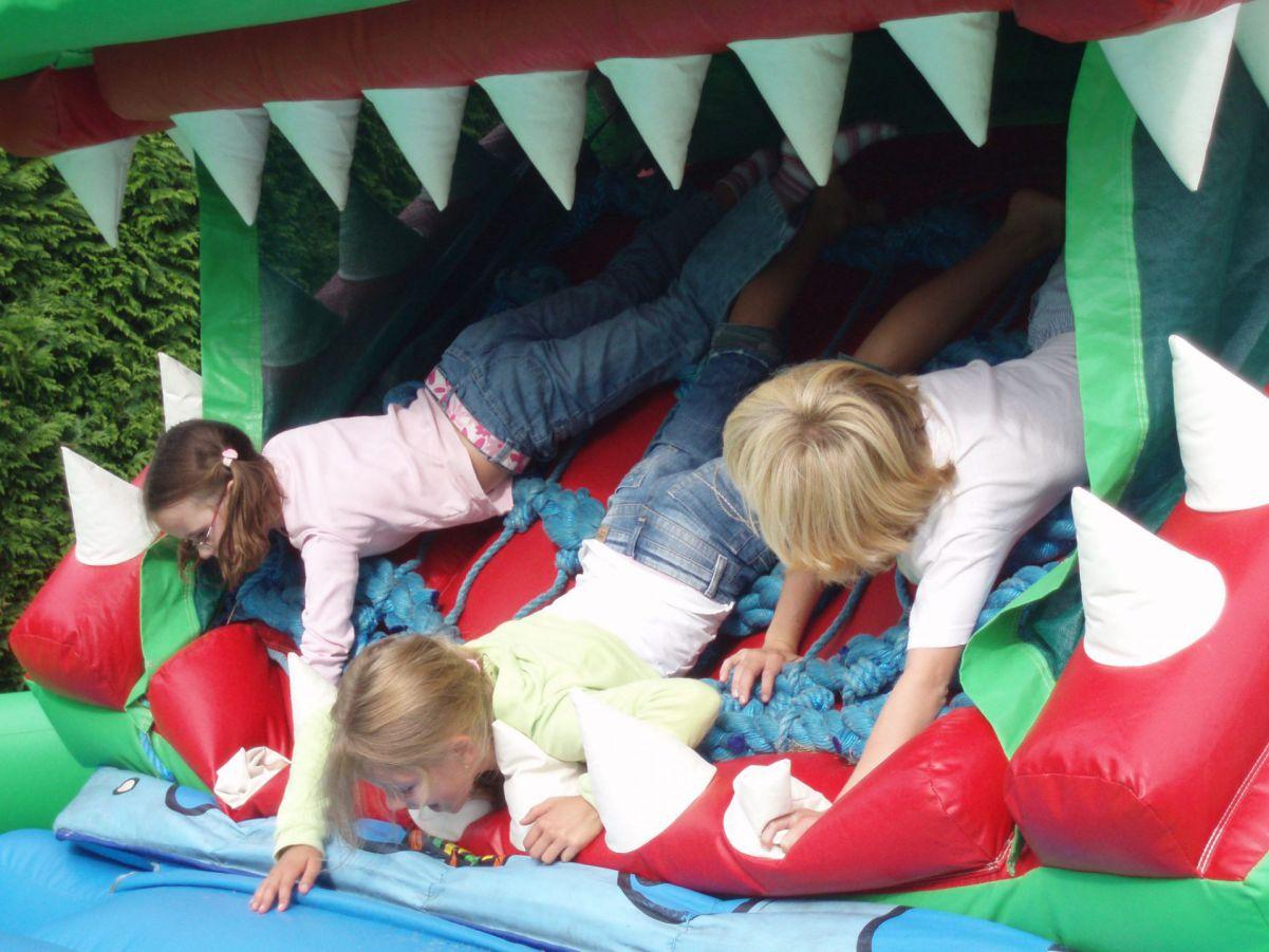 Krokodil met bewegende bek