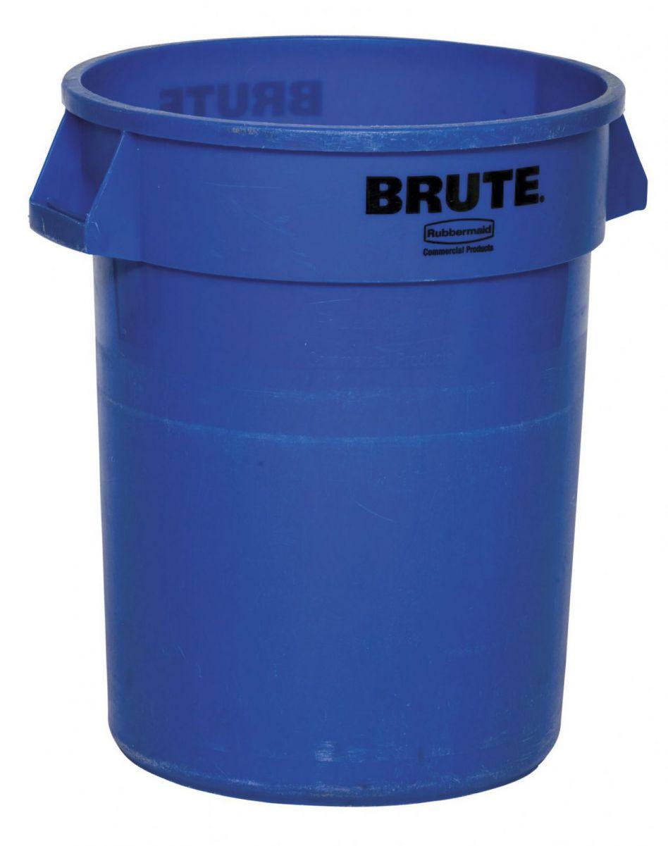 Afvalbak 121L blauw