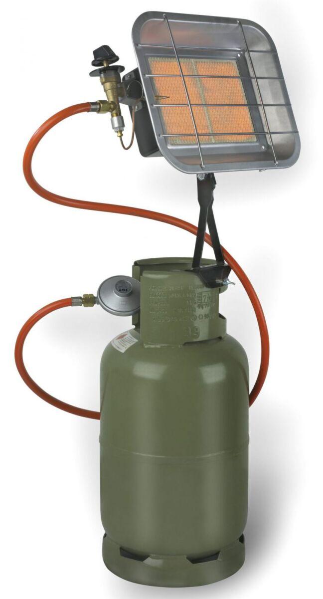 Infraroodstraler op gas
