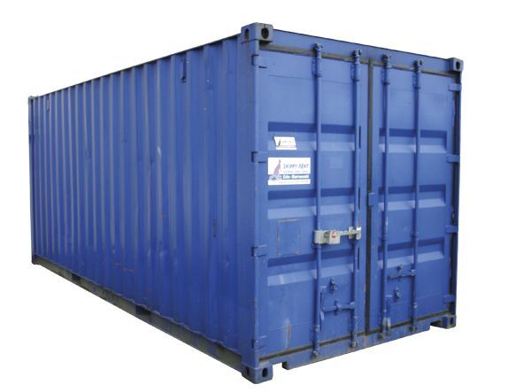 Opslagcontainer 20 ft