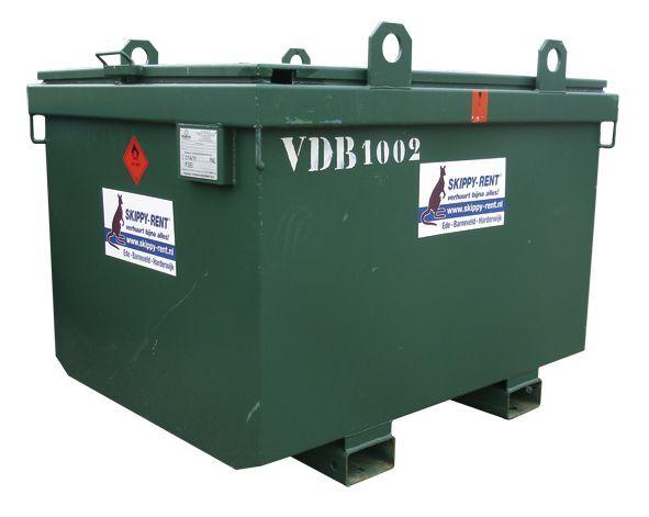 Brandstof milieutank 1000 liter