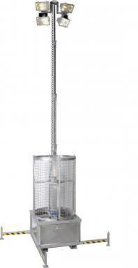 Lichtmast max hoogte 8,5 m (aanbieding)